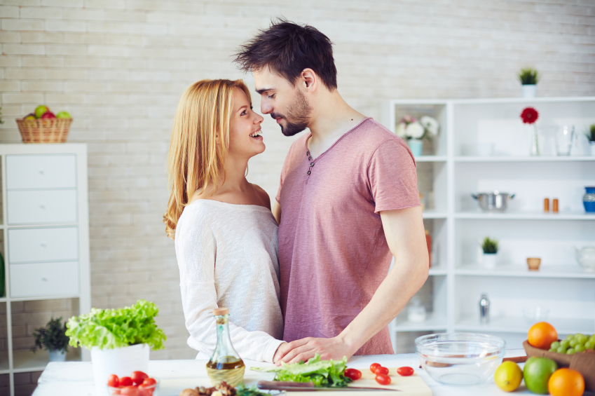 Kitchen romance
